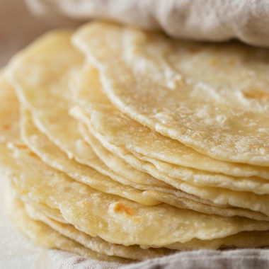 Homemade Flour Tortillas | lifemadesimplebakes.com