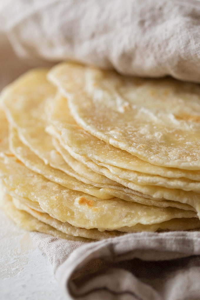 Homemade Flour Tortillas Recipe Life Made Simple