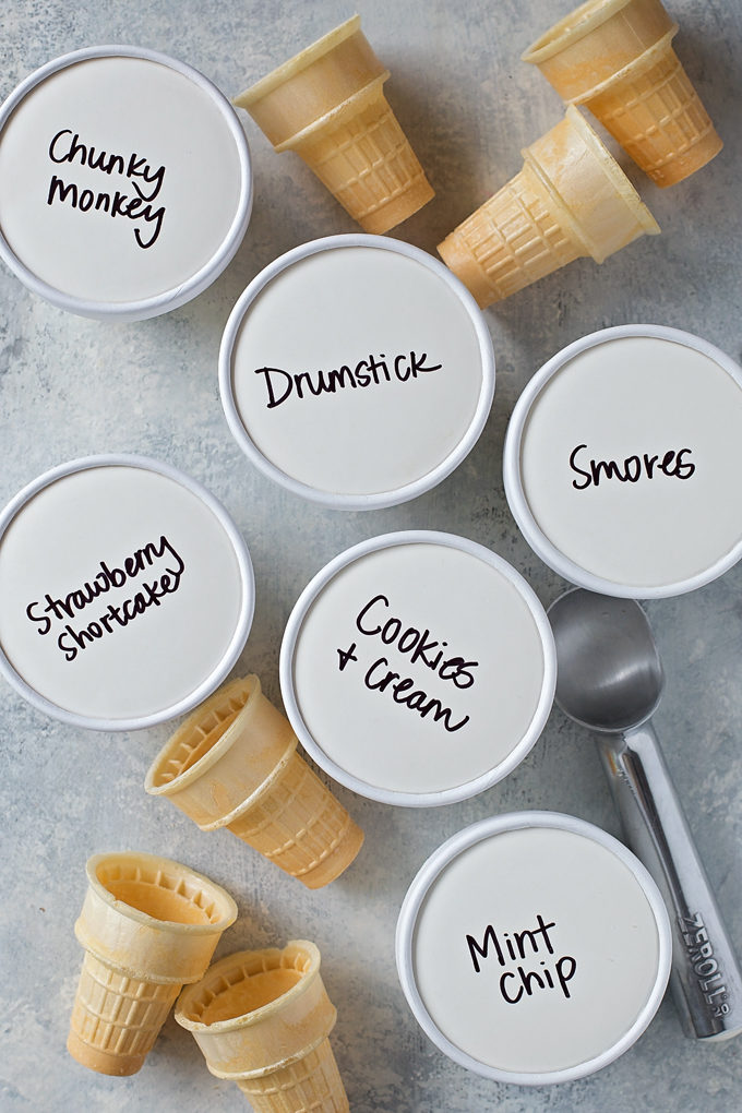 Easy No-Churn Ice Cream | lifemadesimplebakes.com