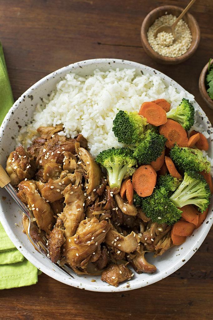 Instant Pot Teriyaki Chicken | lifemadesimplebakes.com
