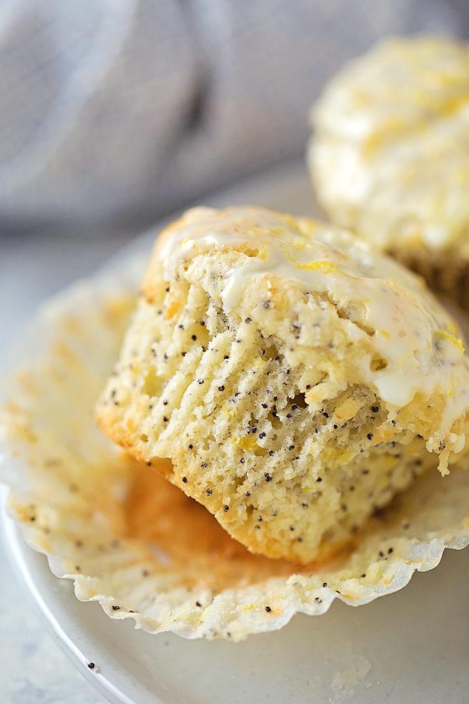 Perfect Lemon Poppy Seed Muffins | lifemadesimplebakes.com