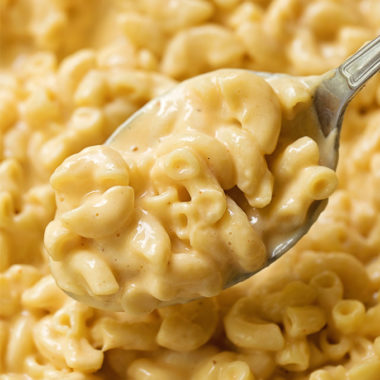 Instant Pot macaroni and cheese.