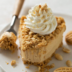 No-Bake Peanut Butter Pie.