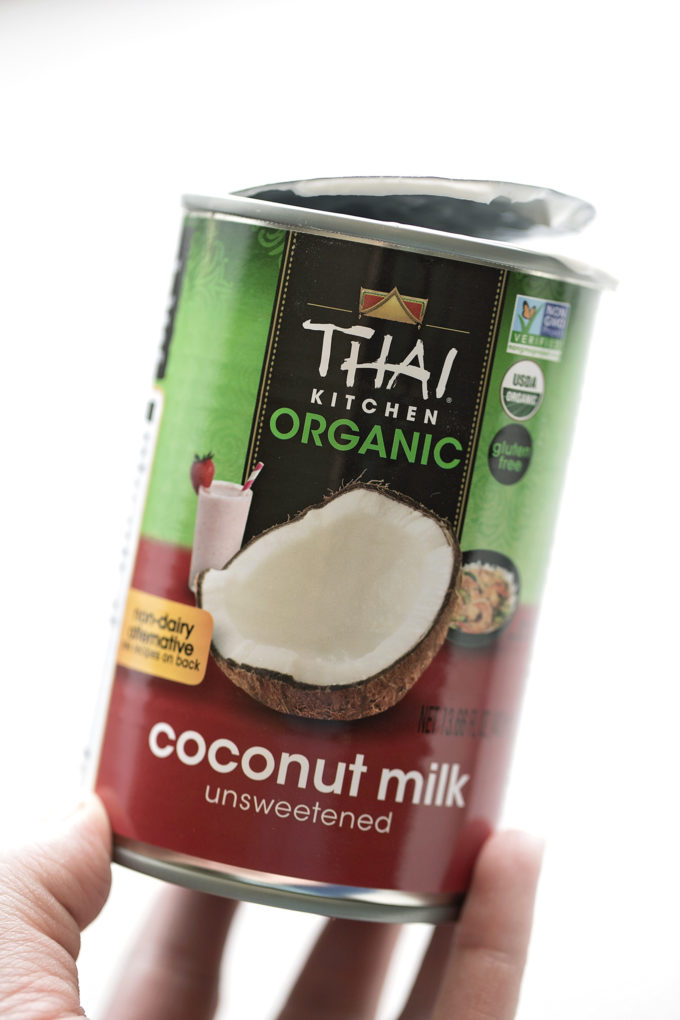A can of full-fat unsweetened coconut milk for the pie filling