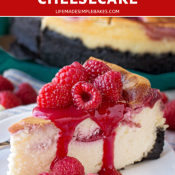 White Chocolate Raspberry Cheesecake Recipe Life Made Simple