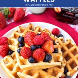 The Best Buttermilk Waffles Life Made Simple