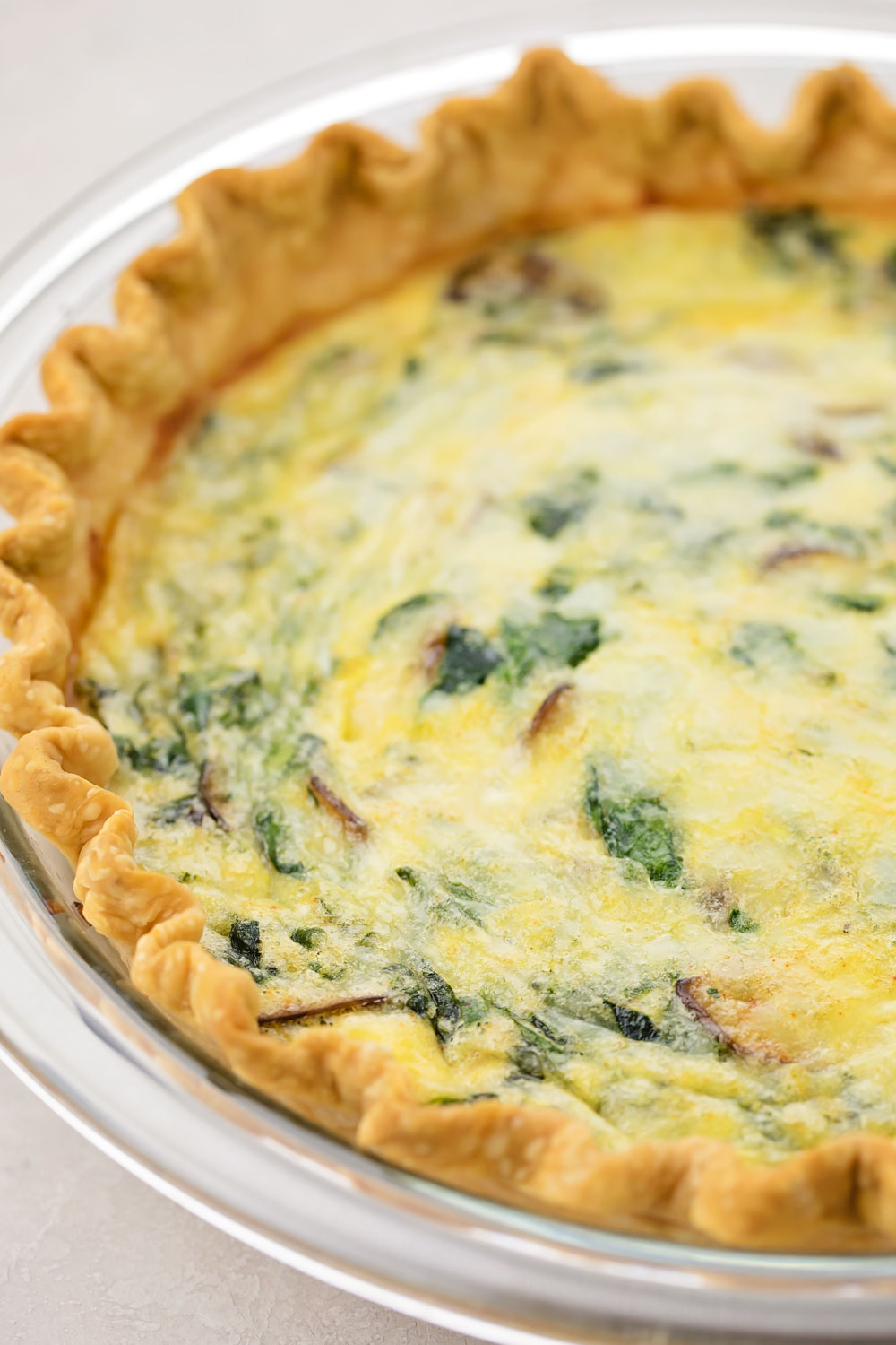 Spinach Quiche Recipe Life Made Simple