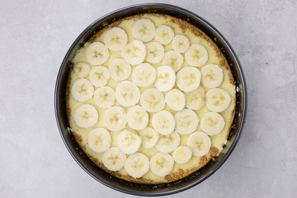 Banana Pudding Cheesecake layers