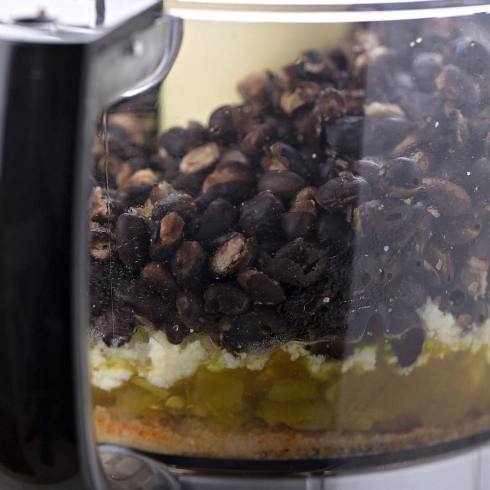 Black bean burgers recipe