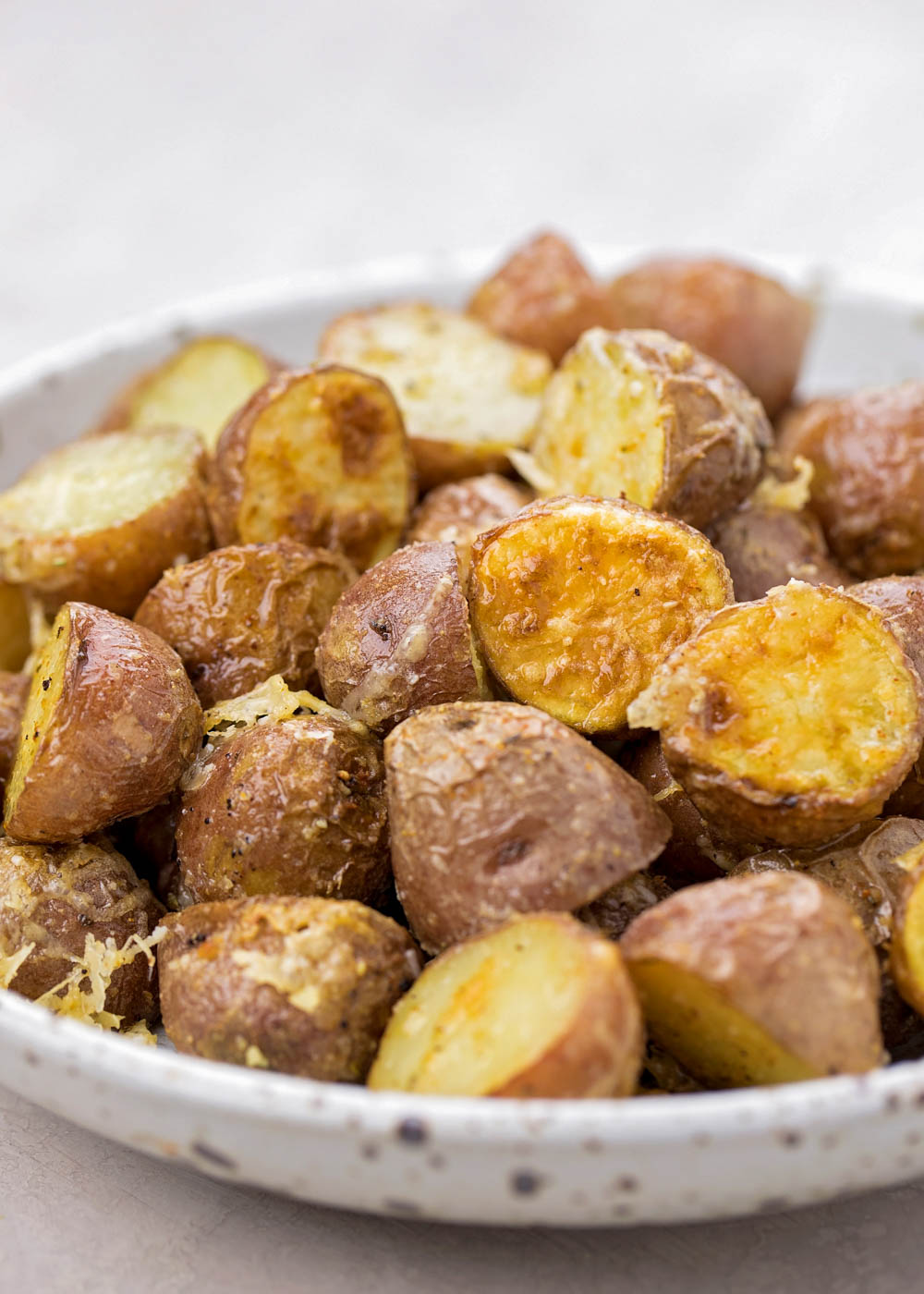 Red potatoes made in the instant pot