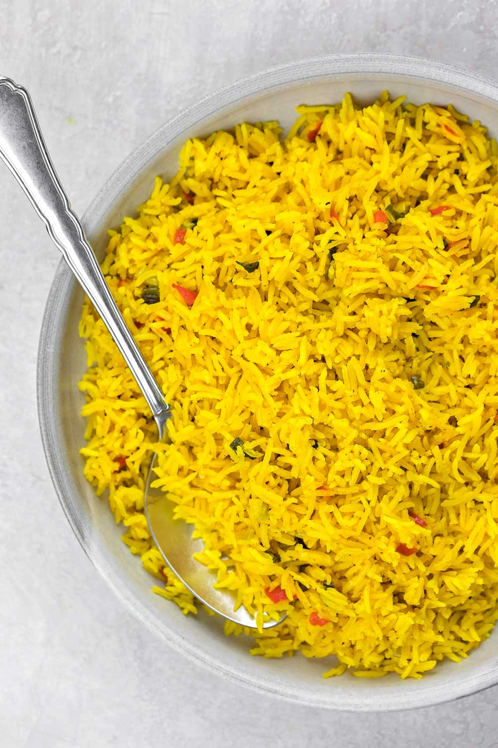 Easy Yellow Rice Recipe Life Made Simple Bakes