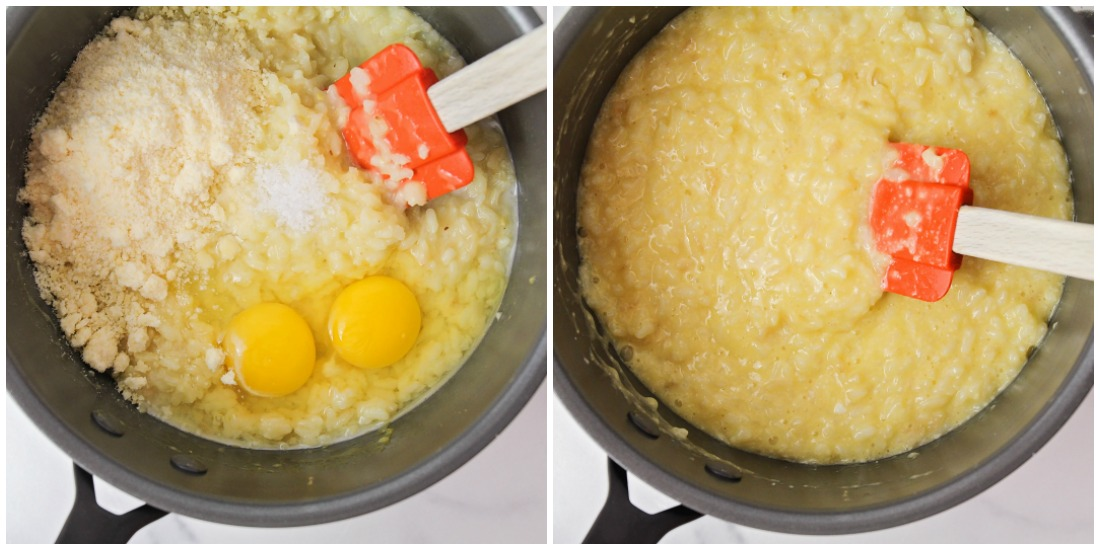 How to make rice balls in a pot on the stove
