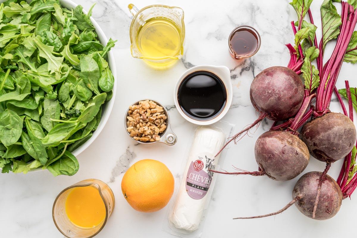 Ingredients for Beet Salad recipe