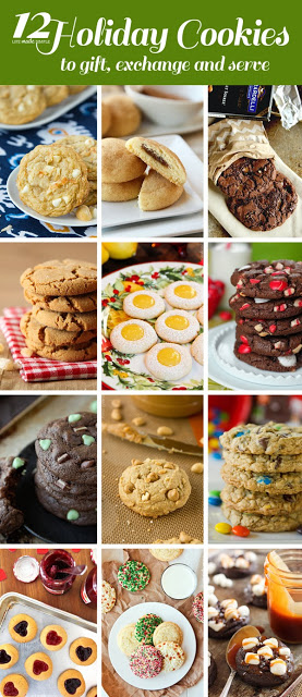 12 Holiday Cookies to Gift, Exchange & Serve