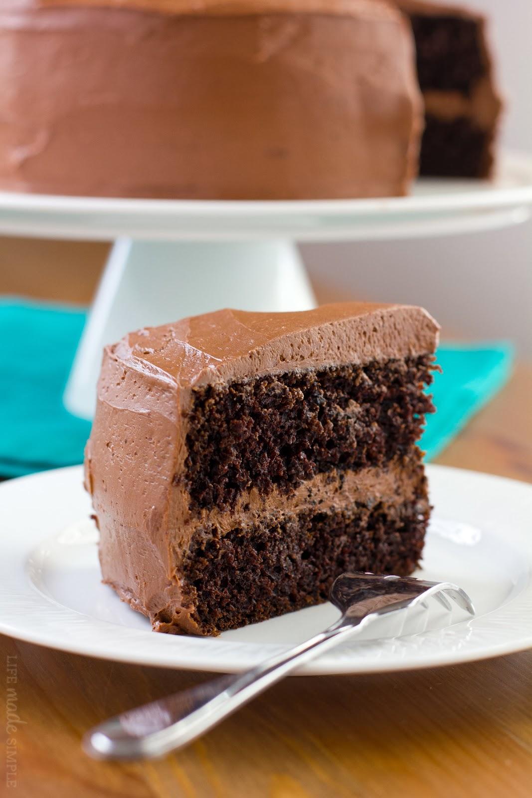 Classic Chocolate Cake | Life Made Simple