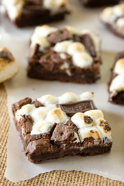 Hershey's Chocolate S'mores Bars