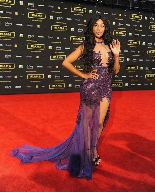 La rappeuse sud africaine Nadia Nakai