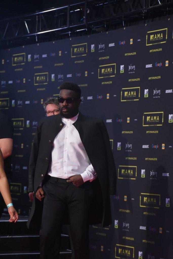 Le chanteur ghanéen Sarkodie
