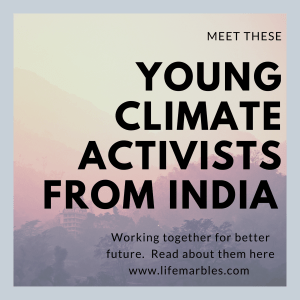 Young Activists from India working together for better future