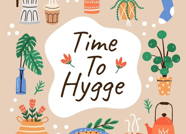 H for Hygge and happiness in My Mindful journal