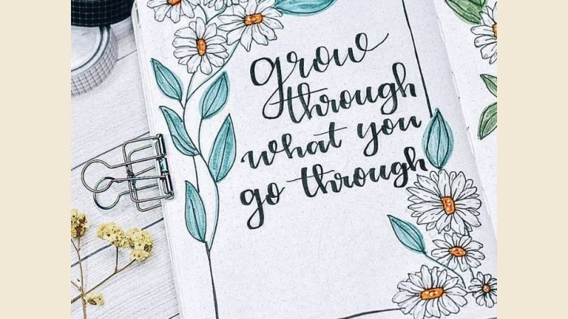 Inspirational cover quote ideas for your journal