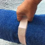 Towel Tidy can be used to make a carry strap