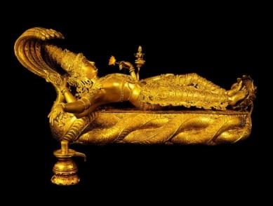 Statue of lord Vishnu