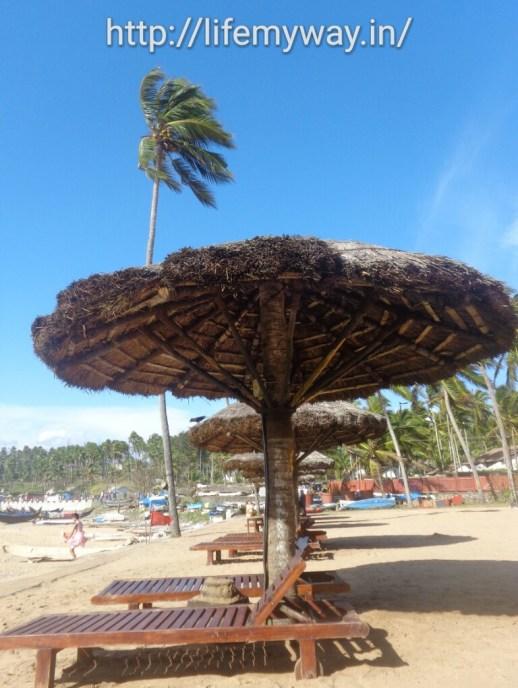 Beach side recliners