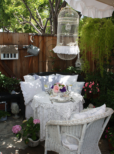 дачный декор сад садовые цветы