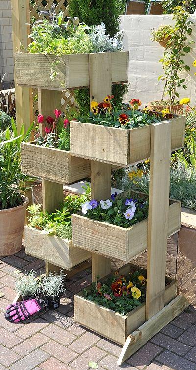 Ящики с ярусами для цветов