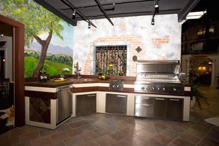 Летняя кухня 2