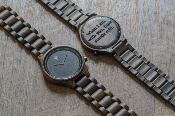 Vintage Wooden Watch