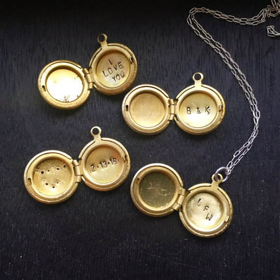 Inscribed Locket