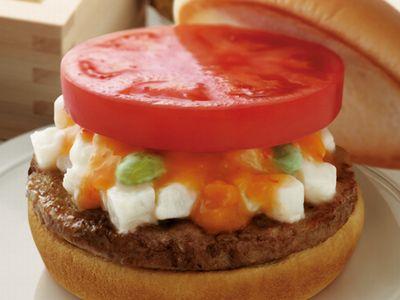 塩糀バーガー 雅 長芋&かんずりソース仕立て