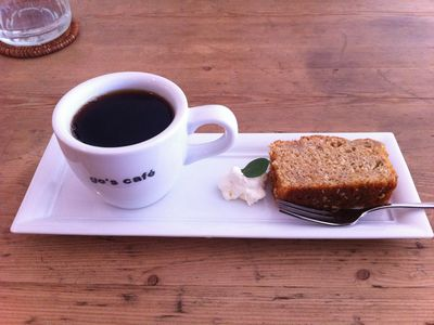 上越高田のGo's Cafe (ゴーズカフェ)でドライカレーとコーヒーをいただく4