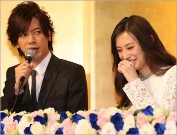 ダイゴと北川景子の結婚会見