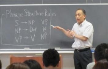 赤楚治之氏の授業風景
