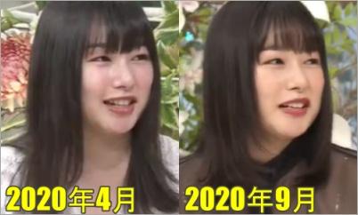 桜井日奈子のナニコレ比較