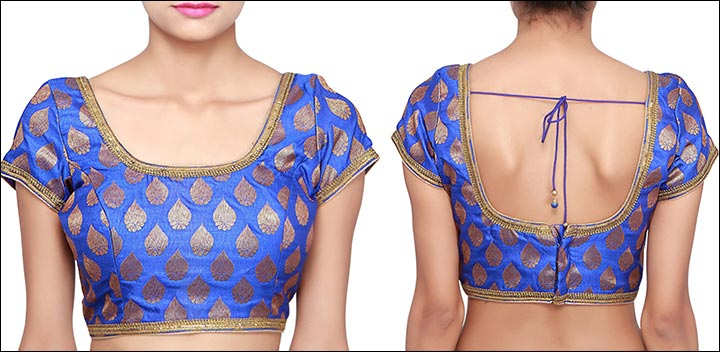 2ca8ab2bd1104a This design comes in a gorgeous peacock blue and features a highly alluring  design, topped off with the stylish open back neck design.