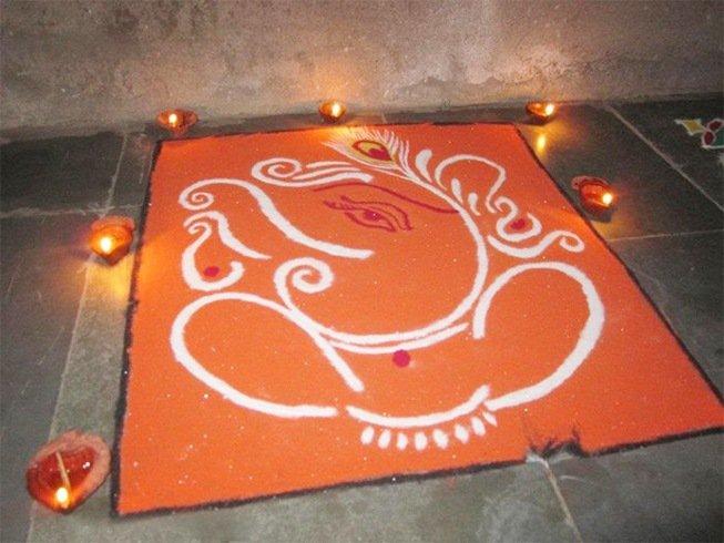 7cd0bf59c 44 Ganesh Rangoli Designs and Ideas That You Should Try This Diwali ...