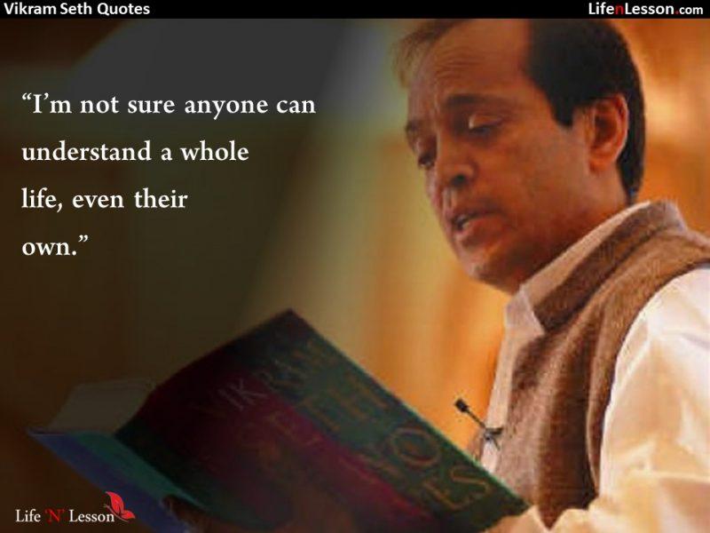 Vikram Seth Quotes