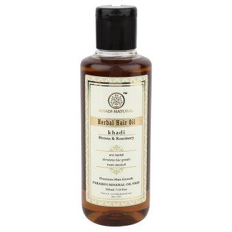 Khadi Ayurvedic Hair Oil- Rosemary & Henna