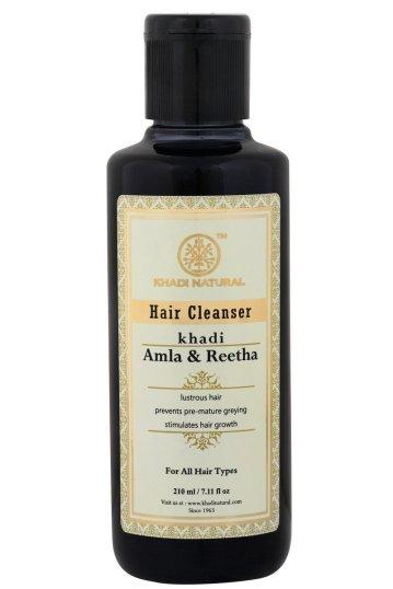 Khadi Herbal Amla & Reetha Shampoo
