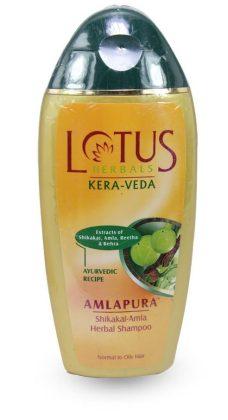 Lotus Kera-Veda Shikakai-Amla Herbal Shampoo