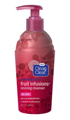 Clean & Clear Morning Burst Fruit Infusions Reviving cleanser