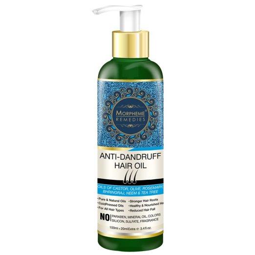 Morpheme Remedies Anti Dandruff Hair Oil