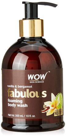 WOW Vanilla and Bergamot Shower Gel