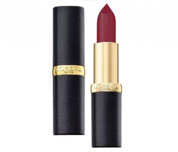 L'Oreal Paris Color Riche Moist Matte Lipstick, Plum Melody