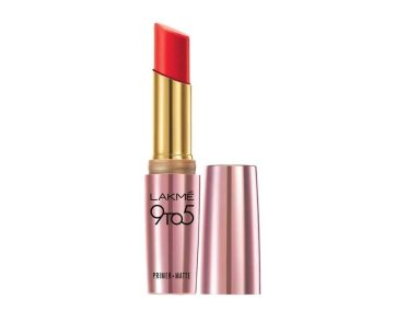 Lakme 9 to 5 Matte Lip Color, Red Coat