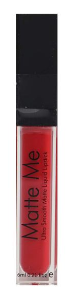 Swiss Beauty Matte Me Ultra Smooth Liquid Lipstick,  Pure Red
